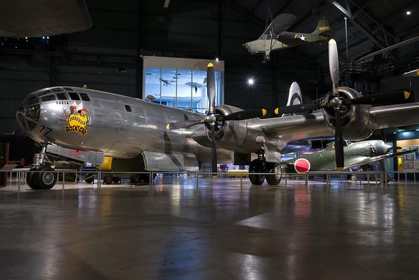 "Bockscar was the B-29 that dropped the ""Fat Man"" atomic bomb on Nagasaki."