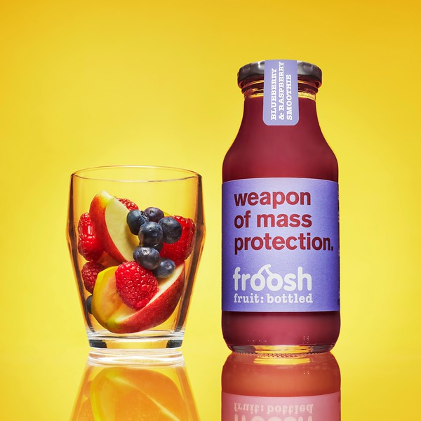 Bleuberry, Raspberry smoothie, 205ml 7350020721960