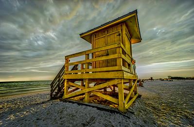 Siesta Key Lifeguard Stand