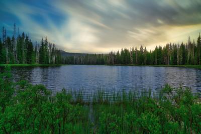 Scott Lake Sky Replacement