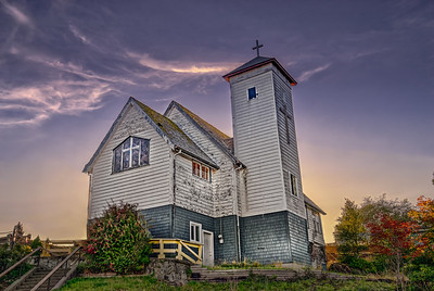 Old Church in Ucluelet