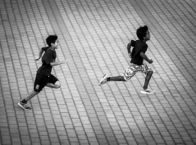 Sunday Foot Race