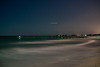 Bradenton Beach Under the Light of a Nearly Full Moon
