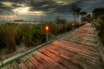 Morning along the Boardwalk