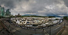 Panorama of Coal Harbour