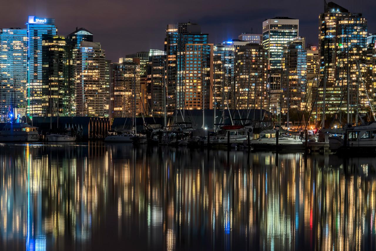 Lights of Coal Harbour