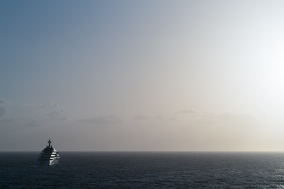 Super-yachts of the Bahamas