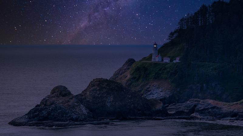 Oregon Coas tDay To Night