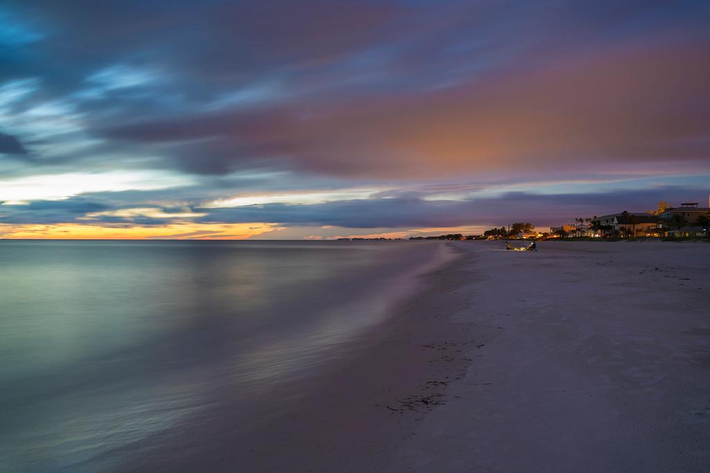 Dusk at Bradenton Beach
