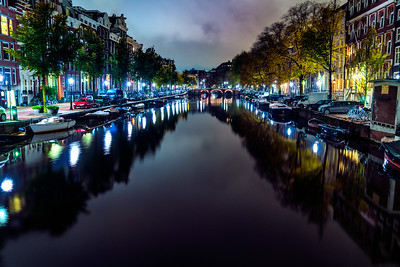 Amsterdam in the Early Morning Hours