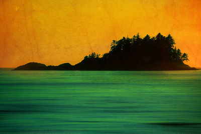 Afterglow at Chesterman Bay