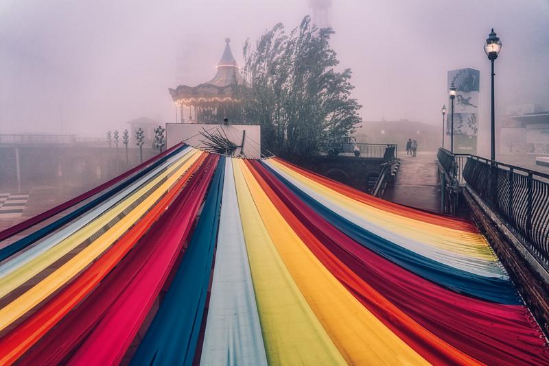 Tibidabo In The Fog