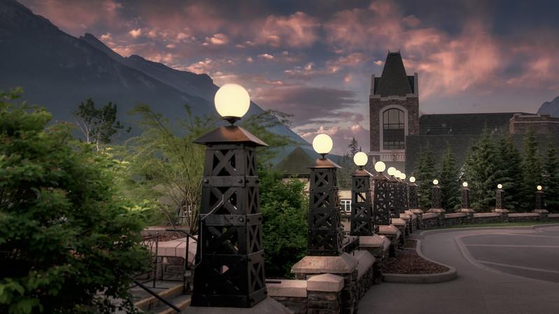 Banff Springs Driveway