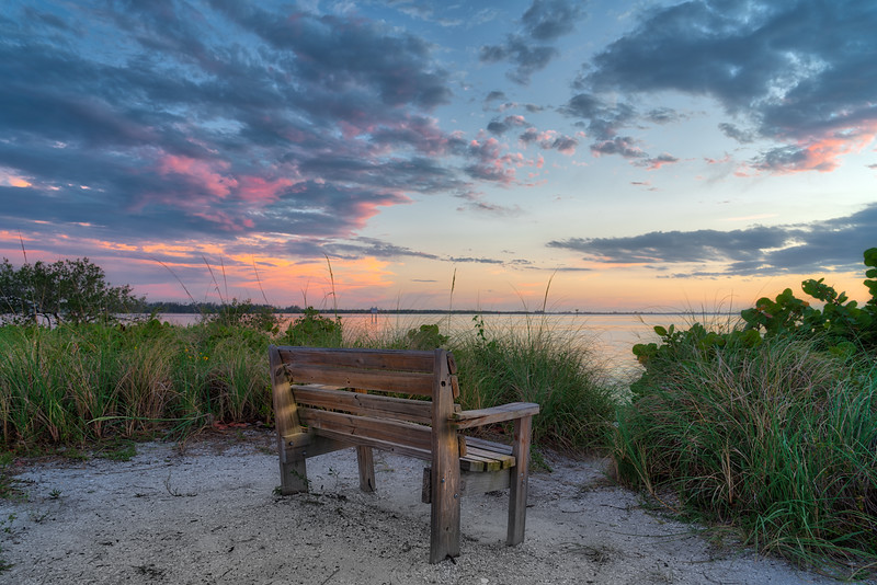 Bench at Emerson Point