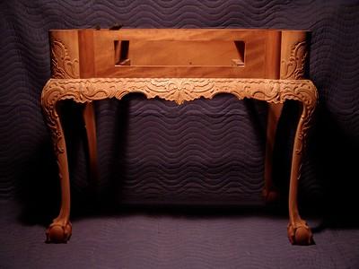 Philadelphia style mahogany table