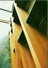 Maple & steel shelves 1997