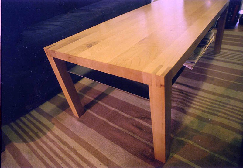 maple small table 1996