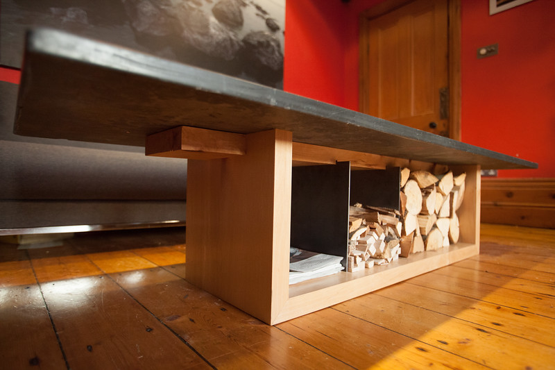 coffee table & firewood storage 2017