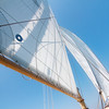 Sails on a Sailboat in New Port