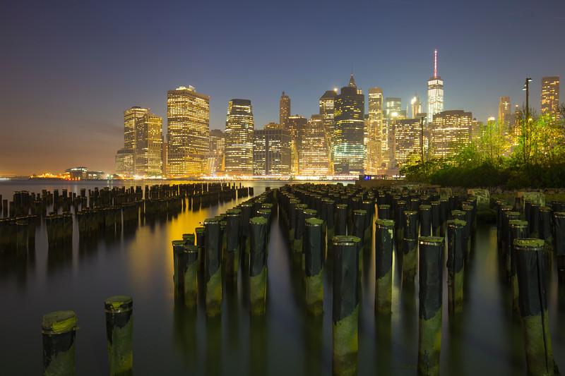 Skyline of Manhatten Newyork