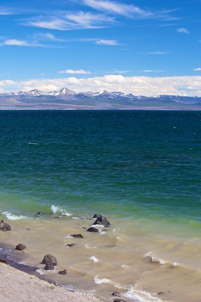 Yellowstone Lake Beach Front