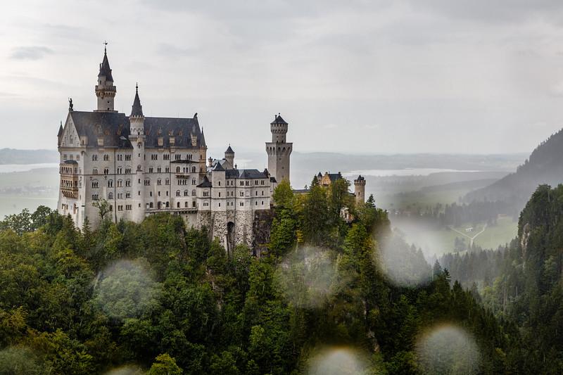 Neuschwanstein castle, Hohenschwangau, Bavaria, Germany