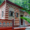 Moorish Pavilion in the park of Linderhof Palace , Bavaria, Germany, Europe