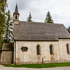 Exterior of the former parish church St Mariah at Herrenchiemsee island in Bavaria, South Germany, Europe