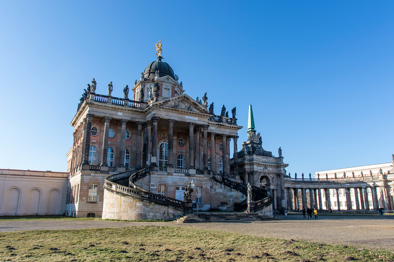 POTSDAM. THE NEW PALACE [NEUES PALAIS].