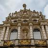 Facade of Linderhof palace in Bavaria, Germany, Europe