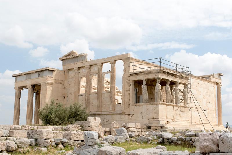 ATHENS. ACROPOLIS. ERECHTHEION.