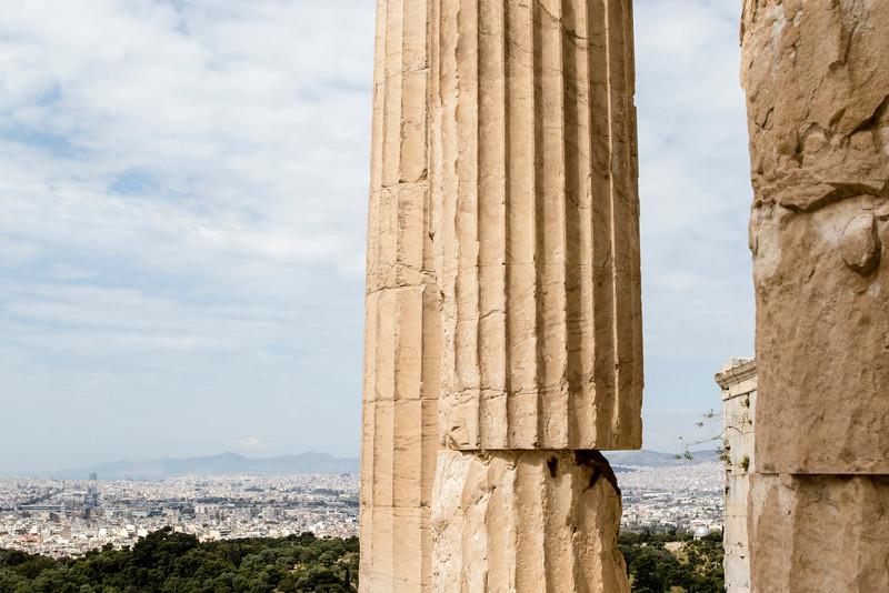 ATHENS. ACROPOLIS. BEULE GATE.