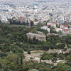ATHENS. ACROPOLIS. VIEW AT ANCIENT AGORA.