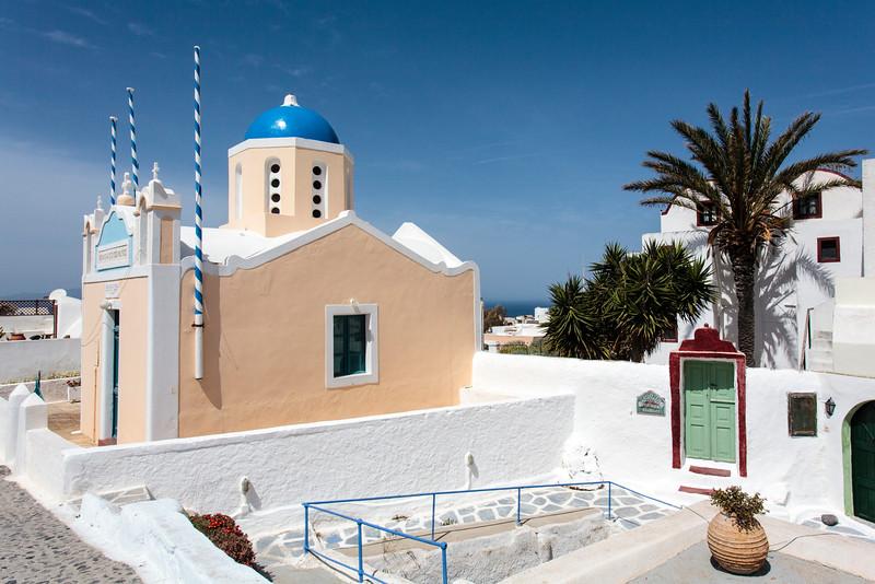 SANTORINI. OIA. IA. GREEK ORTHODOX CHURCH.