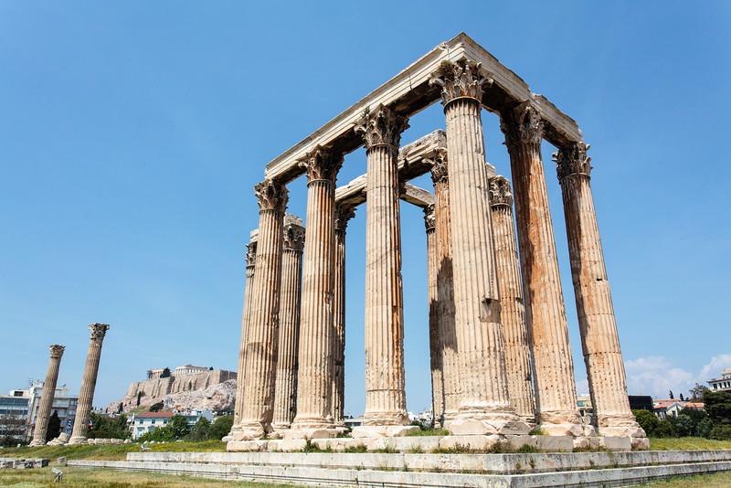 ATHENS. TEMPLE OF OLYMPIAN ZEUS.