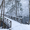 """Snowy Smokies Bridge"""