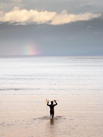 Rainbow flat
