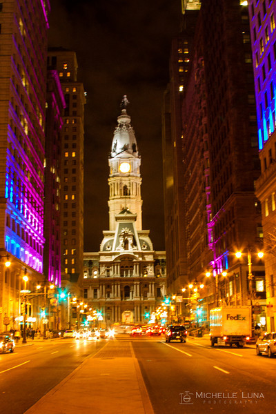 Night Life - City Hall, Philadelphia, PA