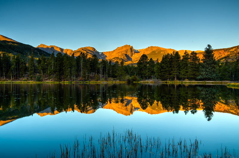 Morning Reflection in RMNP