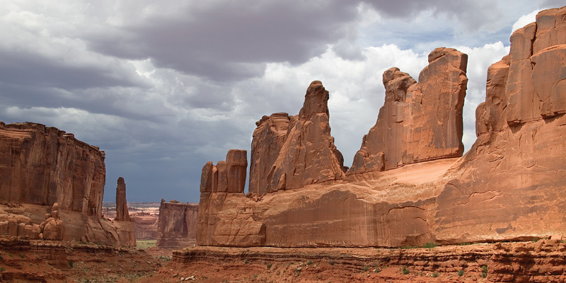 Wall Street Rock Formation; Arches National Park, UT