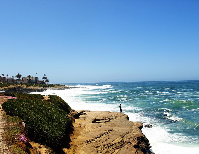 La Jolla Coastline  Order Code: A36