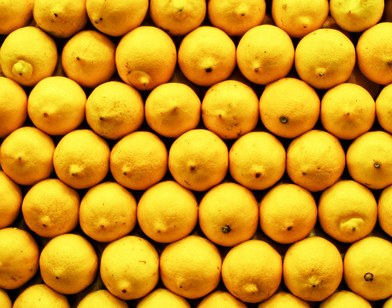 La Boqueria Lemons - Barcelona, Spain  Order Code: A43