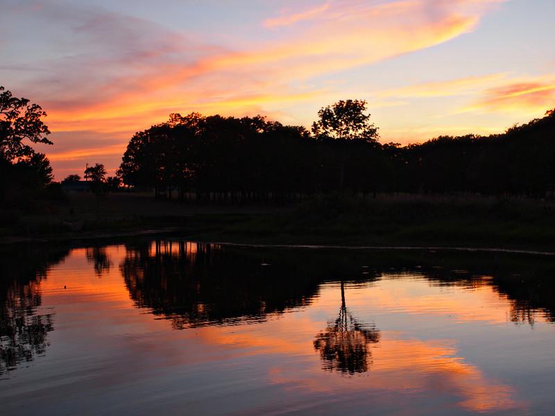 Lake Fork Glowing Sunset  Order Code: B48