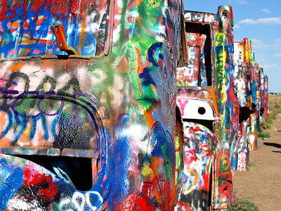 Cadillac Ranch Up Close  Order Code: B23