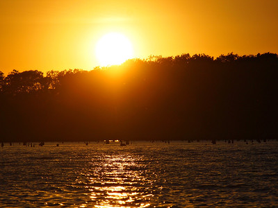 Bright Sunset on Lake Fork  Order Code: B4
