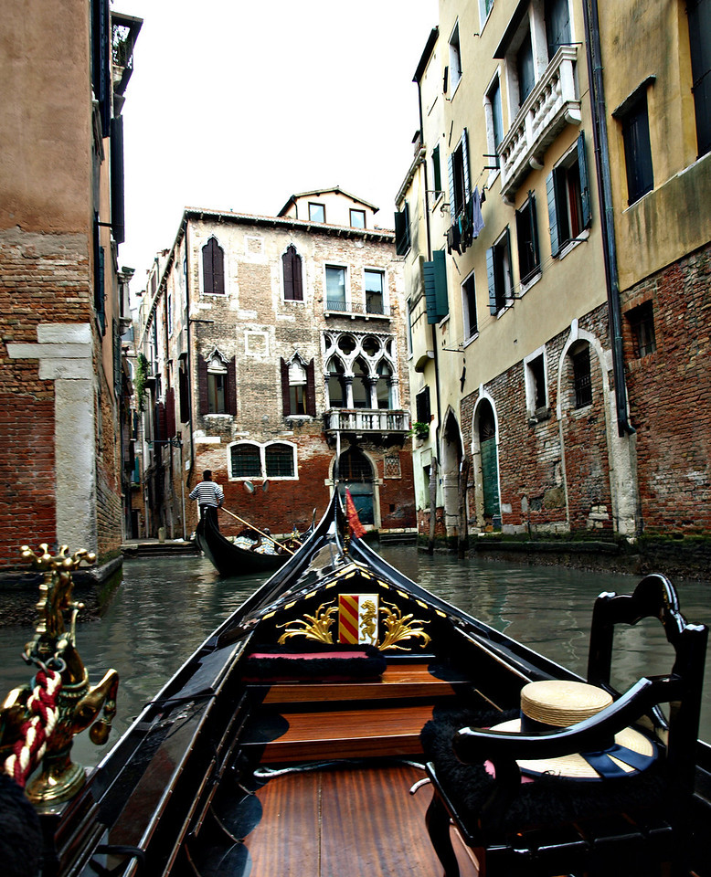 Venice from a Gondola  Order Code: C7