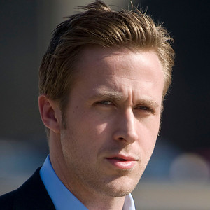 """Actor Ryan Gosling walks from the set of """"The Ides of March"""" in downtown Ann Arbor, Michigan on March 16, 2011.  Gosling's character in the movie is Stephen Myers and the film is being directed by George Clooney."""