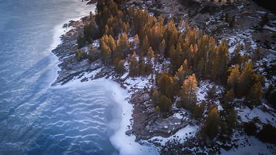 Silver Lake Frozen