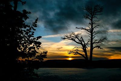 Sunset at Yovimpa Point
