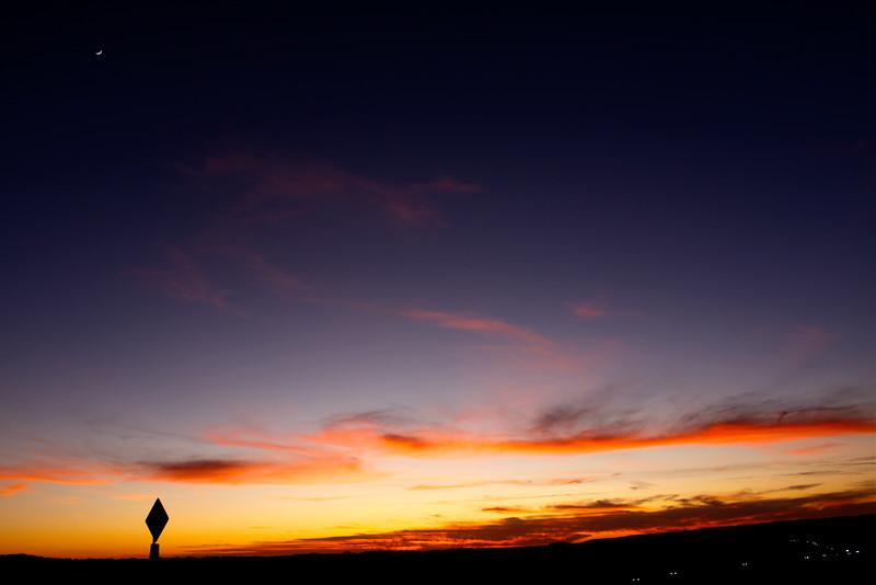 Sunset Over I-20